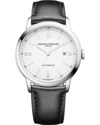 Baume & Mercier M0a10332 Classima Stainless Steel Watch - Black