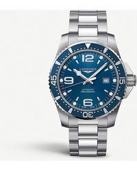 Longines L38414966 Hydroconquest Stainless Steel Watch - Metallic