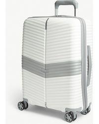 Samsonite Darts Four-wheel Cabin Suitcase 55cm - White