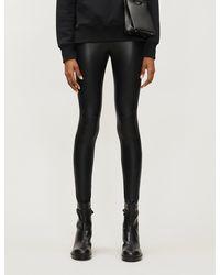 Commando Moto Faux-leather leggings - Black