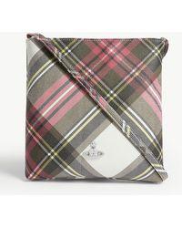Vivienne Westwood Plaid Pattern Crossbody Bag - Multicolour