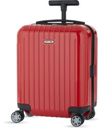 Rimowa - Salsa Air Guards Red Four Wheel Cabin Suitcase (43cm) - Lyst