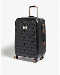 Ted Baker Beau Four-wheel Suitcase 69.5cm - Black