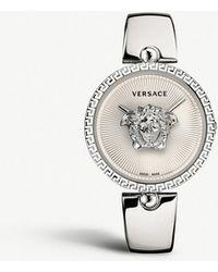Versace - Versace Palazzo Empire Semi-bangle Watch, 39mm - Lyst