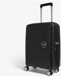 American Tourister Soundbox Expandable Four-wheel Cabin Suitcase 55cm - Black