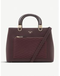 Dune Dannyy Quilted Faux-leather Tote Bag - Multicolour