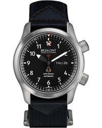Bremont Martin Baker Mbii/gr Stainless Steel Watch - Black