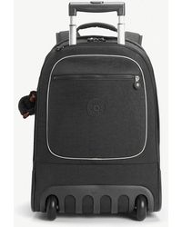 Kipling - True Black Clas Soobin Wheeled Backpack - Lyst