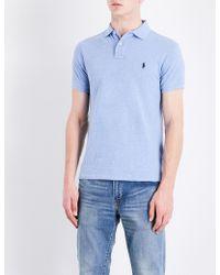 Polo Ralph Lauren - Slim-fit Cotton-pique Polo Shirt - Lyst