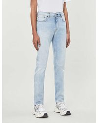 Acne Studios North Tapered Jeans - Blue