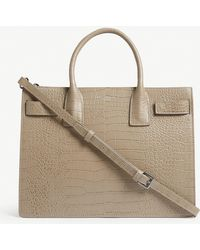 Kurt Geiger - Shoreditch Croc-embossed Leather Tote Bag - Lyst