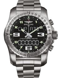 Breitling - Eb501022/bd40 176e Professional Cockpit Titanium Watch - Lyst