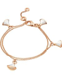 BVLGARI - Divas' Dream 18kt Pink-gold Bracelet - Lyst