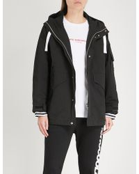 Chocoolate - Printed Cotton-blend Hooded Jacket - Lyst