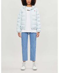 Levi's Francine Shell-down Packable Puffer Jacket - Blue