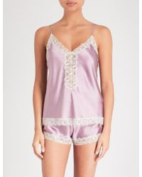 Nk Imode - Urban Silk-satin Pyjama Shorts - Lyst