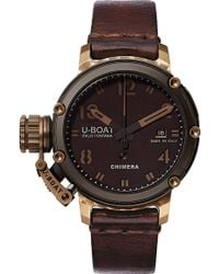 U-boat | 7237 Chimera Bronze And Black 46 Limited Edition Watch | Lyst