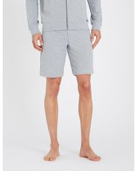 Hanro - Solid Cotton-jersey Shorts - Lyst