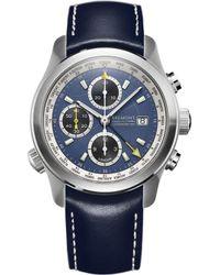 Bremont Alt1-wtbl World Timer Stainless Steel Watch - Blue
