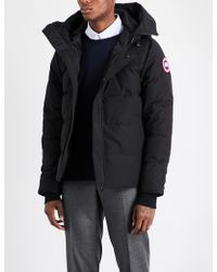Canada Goose Macmillan Quilted Shell Parka - Black