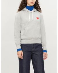 COMME DES GARÇONS PLAY Comme Des Garcons Play Pullover Hoody - Gray
