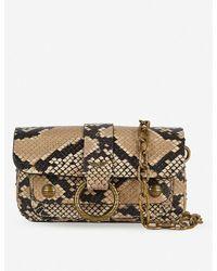 Zadig & Voltaire Kate Wild Wallet Snakeskin-print Cross-body Bag - Multicolor