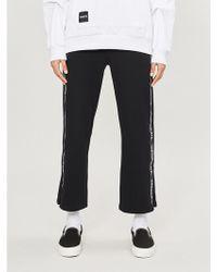 Chocoolate - Logo-striped Cotton-blend jogging Bottoms - Lyst