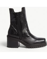 The Kooples - Leather Boots - Lyst