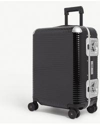 Fpm Fabbrica Pelletterie Milano Bank Light Spinner 55 Suitcase - Black