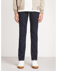 Jacob Cohen - Faded Tailored-fit Tapered Jeans - Lyst
