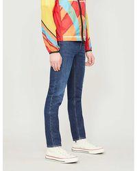 Acne Studios North Skinny Slim-fit Skinny Jeans - Blue