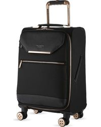 Ted Baker Albany Four-wheel Cabin Suitcase 55cm - Black