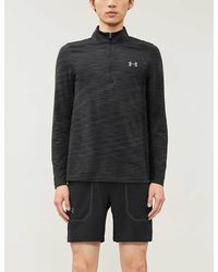 Under Armour Vanish Seamless Half Zip Top - Black