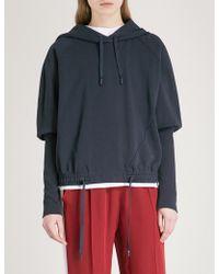 Sportmax | Carrara Cotton-blend Hoody | Lyst