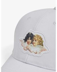 Fiorucci Angel Logo-embroidered Canvas Cap - White