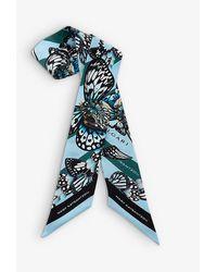 BVLGARI X Mary Katrantzou Shelley Graphic-print Silk Scarf - Blue