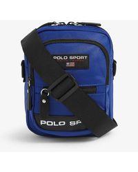 Polo Ralph Lauren Polo Sport Nylon Crossbody Bag - Blue