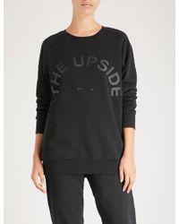 The Upside - Sid Cotton-jersey Sweatshirt - Lyst