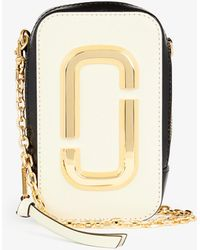 Marc Jacobs - The Hot Shot Leather Cross-body Bag - Lyst