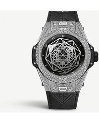 Hublot 415.nx.1112.vr.1704.mxm17 Big Bang Sang Bleu Diamond - Metallic