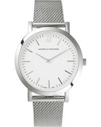 Larsson & Jennings - Lj-w-lit-cs Lugano Stainless Steel Watch - Lyst
