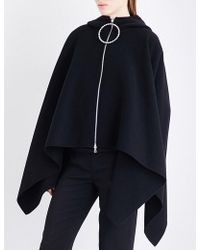 Emilio Pucci - Flared Wool And Cashmere-blend Cape - Lyst