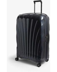 Samsonite Chronolite Four-wheel Cabin Suitcase 81cm - Blue