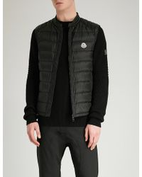 Moncler | Arves Quilted Shell-down Gilet | Lyst