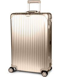 Rimowa Topas Four-wheel Titanium Suitcase 79cm - Black
