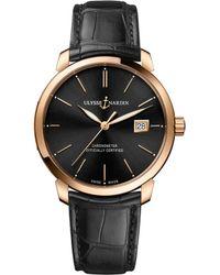 Ulysse Nardin - 8156-111-2/92 Classico Rose-gold Watch - Lyst