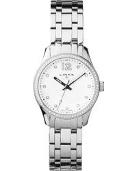Links of London - Greenwich Noon Stainless Steel And Crystal Bracelet Watch - Lyst