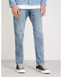 8c3542e0 DIESEL Larkee - Beex Regular Taper Jeans 084cv Mid Wash in Blue for ...