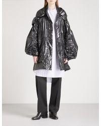 Jil Sander - Evian Hooded Pvc Coat - Lyst