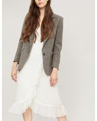 Ba&sh - Leto Herringbone Wool Jacket - Lyst